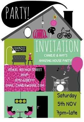 27 Report House Party Invitation Template for Ms Word for House Party Invitation Template