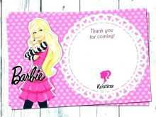 27 The Best Birthday Invitation Barbie Template PSD File with Birthday Invitation Barbie Template