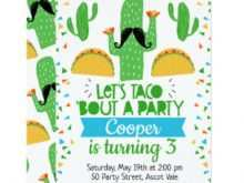 27 The Best Taco Party Invitation Template Now with Taco Party Invitation Template