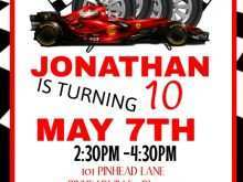 27 Visiting Cars Birthday Invitation Template for Ms Word by Cars Birthday Invitation Template
