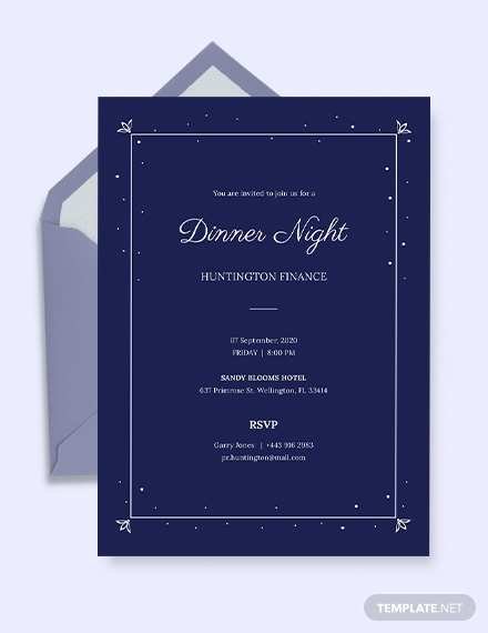 28 Adding Blank Dinner Invitation Template Photo with Blank Dinner Invitation Template