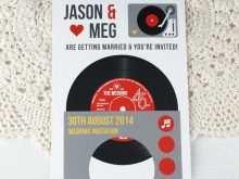 28 Best Vinyl Record Wedding Invitation Template Maker for Vinyl Record Wedding Invitation Template