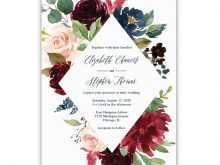 28 Create Floral Wedding Invitation Template in Word for Floral Wedding Invitation Template