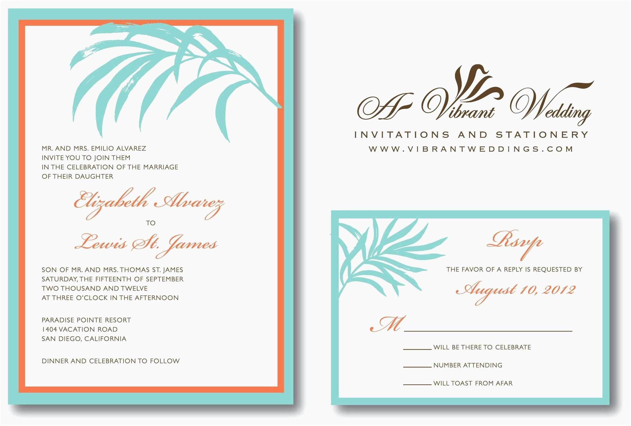 5 Creative Free Vietnamese Wedding Invitation Template With