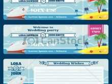 28 Customize Our Free Boarding Pass Wedding Invitation Template for Ms Word by Boarding Pass Wedding Invitation Template