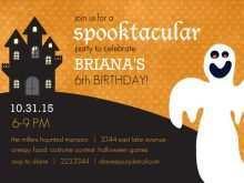28 Free Birthday Invitation Template Halloween PSD File with Birthday Invitation Template Halloween