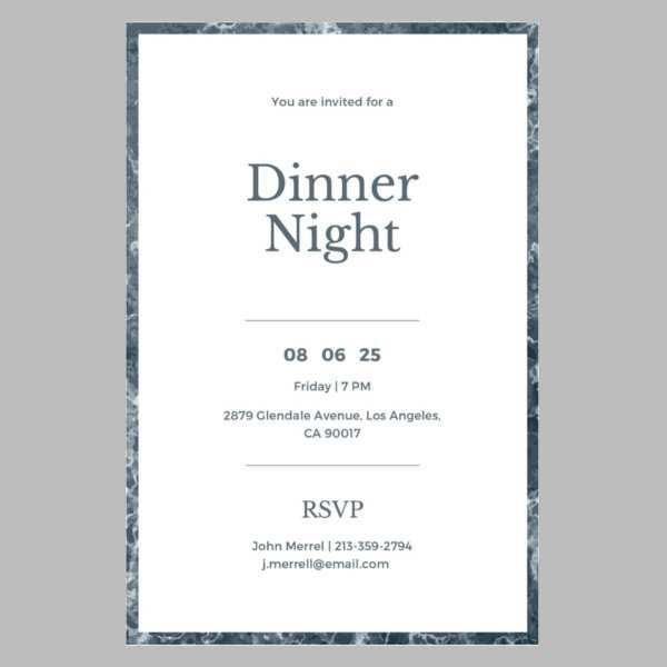 28 Free Printable Corporate Dinner Invitation Example in Word for Corporate Dinner Invitation Example