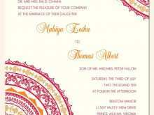 28 Free Printable Reception Invitation Card Format India With Stunning Design with Reception Invitation Card Format India