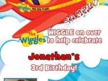 28 Free Printable Wiggles Birthday Invitation Template in Word with Wiggles Birthday Invitation Template