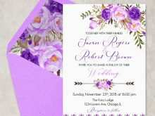 28 Online Wedding Invitation Templates Violet Maker for Wedding Invitation Templates Violet