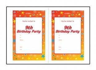 28 Printable Birthday Party Invitation Template Boy Photo by Birthday Party Invitation Template Boy