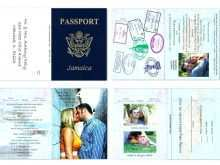Passport Wedding Invitation Template