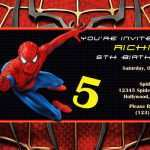 28 Standard Spiderman Party Invitation Template Free Formating by Spiderman Party Invitation Template Free