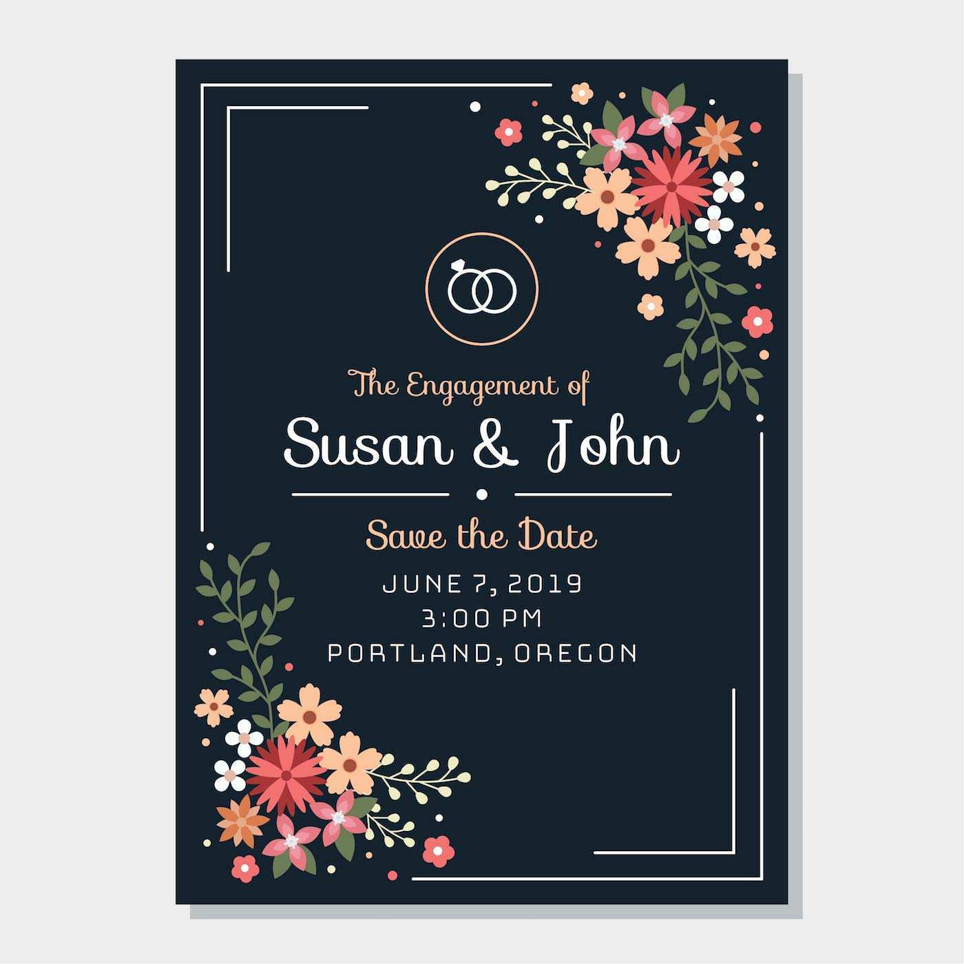 29 Best Invitation Card Format For Engagement Maker with Invitation Card  Format For Engagement - Cards Design Templates