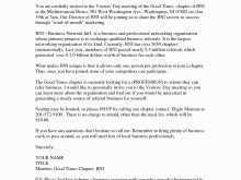 29 Blank Formal Meeting Invitation Letter Template in Word by Formal Meeting Invitation Letter Template