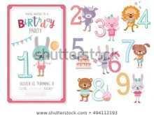 29 Create Birthday Invitation Template Animals Photo for Birthday Invitation Template Animals