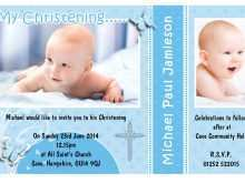29 Creative Baby Boy Christening Blank Invitation Template With Stunning Design for Baby Boy Christening Blank Invitation Template