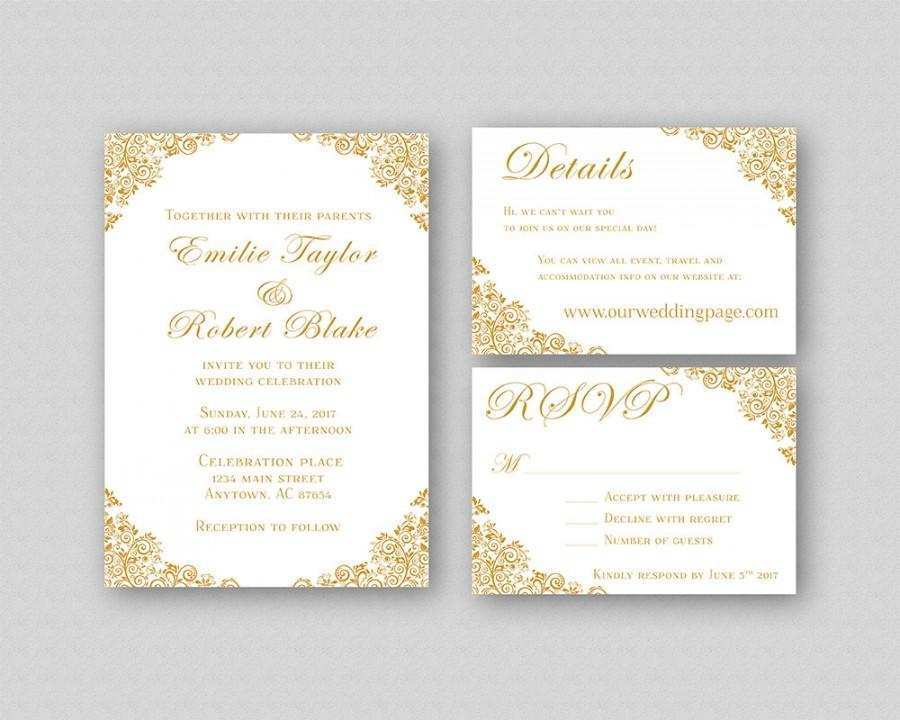 29 Format Elegant Wedding Invitation Card Template Layouts with Elegant Wedding Invitation Card Template