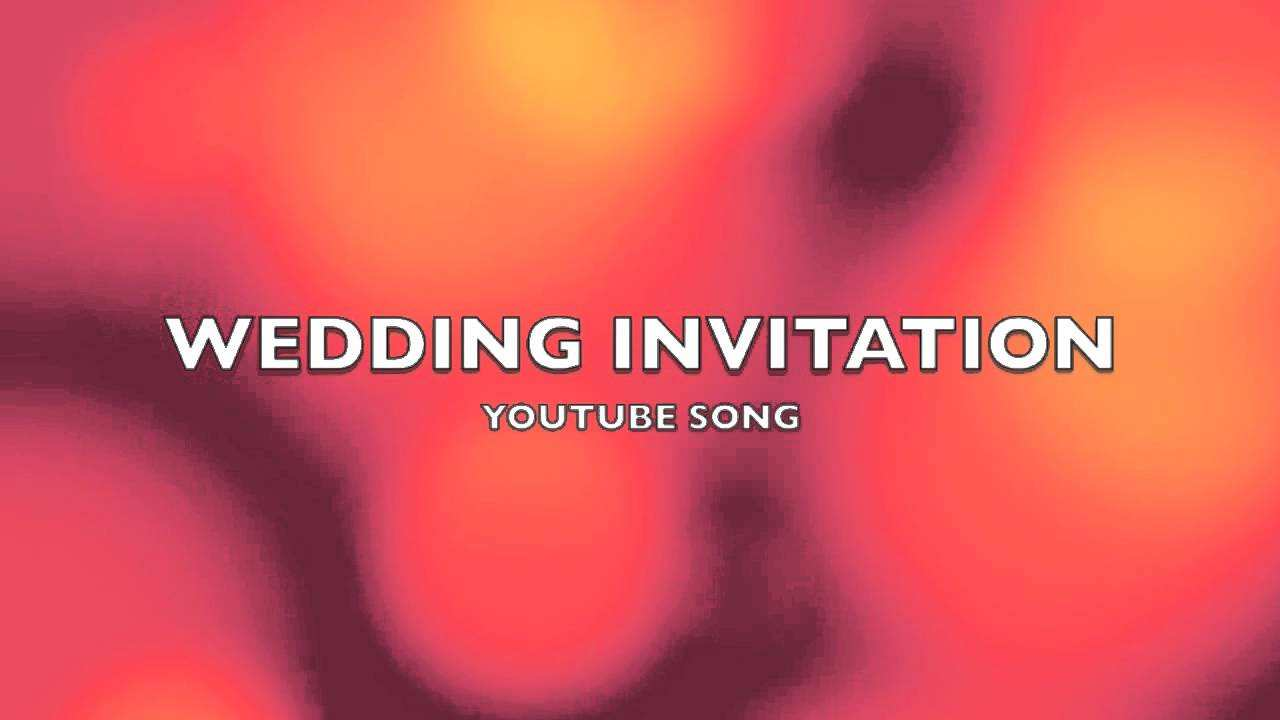 29 Free Card Invitation Example Youtube With Stunning Design with Card Invitation Example Youtube