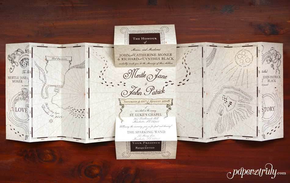 29 How To Create Harry Potter Wedding Invitation Template in Photoshop with Harry Potter Wedding Invitation Template