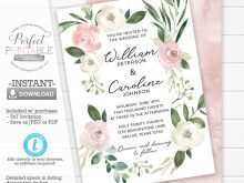 29 Report Blush Pink Wedding Invitation Template With Stunning Design for Blush Pink Wedding Invitation Template