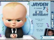 29 Report Boss Baby Birthday Invitation Template Templates for Boss Baby Birthday Invitation Template