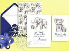 29 Standard Birthday Invitation Elephant Template Photo for Birthday Invitation Elephant Template