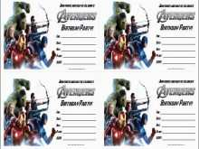 30 Create Avengers Party Invitation Template Layouts for Avengers Party Invitation Template