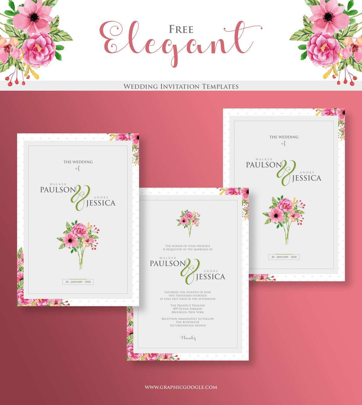 30 Creating Elegant Wedding Invitation Template Templates for Elegant Wedding Invitation Template