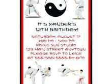 30 Customize Ninja Birthday Party Invitation Template Free Now for Ninja Birthday Party Invitation Template Free