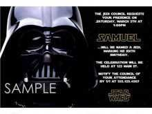 30 Customize Our Free Star Wars Birthday Invitation Template Templates by Star Wars Birthday Invitation Template