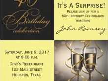 30 Format 50Th Birthday Invitation Template Vector for Ms Word for 50Th Birthday Invitation Template Vector