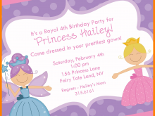 30 Free Printable Birthday Invitation Template Princess Templates for Birthday Invitation Template Princess