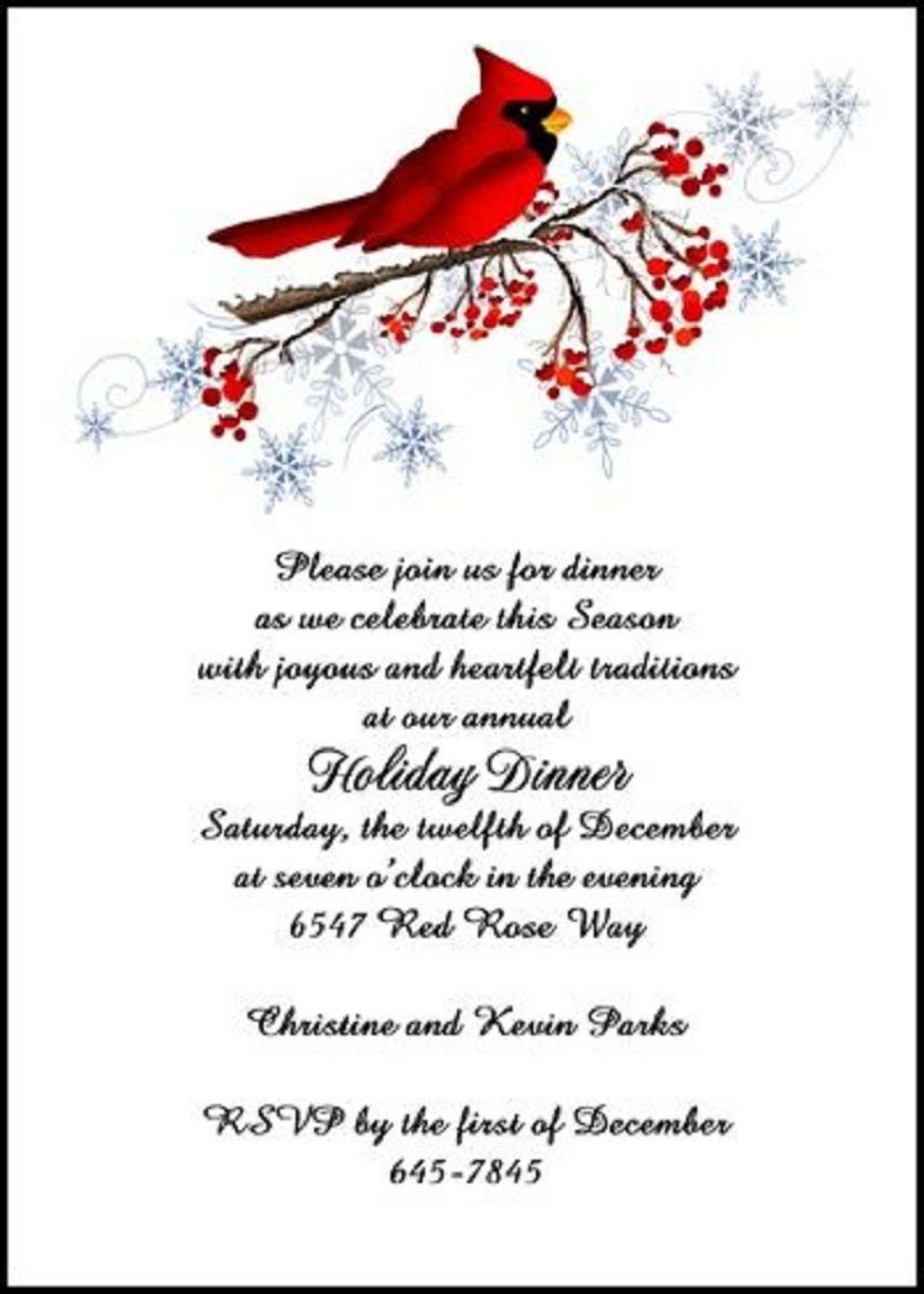 5 Printable New Year Party Invitation Letter Template PSD File