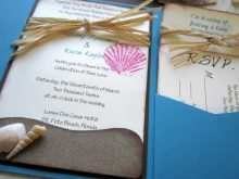31 Adding Beach Wedding Invitation Template Maker by Beach Wedding Invitation Template