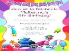 31 Adding Trolls Party Invitation Template in Photoshop with Trolls Party Invitation Template