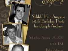 31 Creating 70 Year Old Birthday Invitation Template Templates with 70 Year Old Birthday Invitation Template