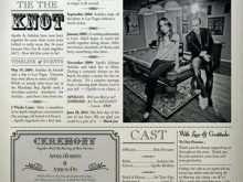 31 Creating Wedding Invitation Newspaper Template in Word by Wedding Invitation Newspaper Template