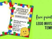 31 Customize Lego Party Invitation Template Free Photo by Lego Party Invitation Template Free