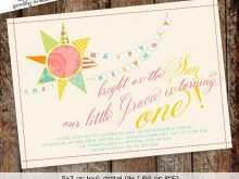 31 Customize You Are My Sunshine Birthday Invitation Template With Stunning Design with You Are My Sunshine Birthday Invitation Template