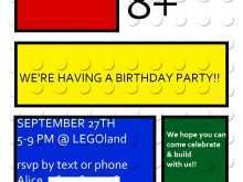 31 Format Lego Birthday Party Invitation Template Photo for Lego Birthday Party Invitation Template