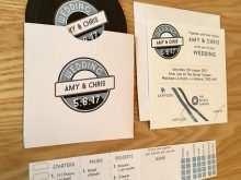 31 Printable Vinyl Record Wedding Invitation Template Formating with Vinyl Record Wedding Invitation Template