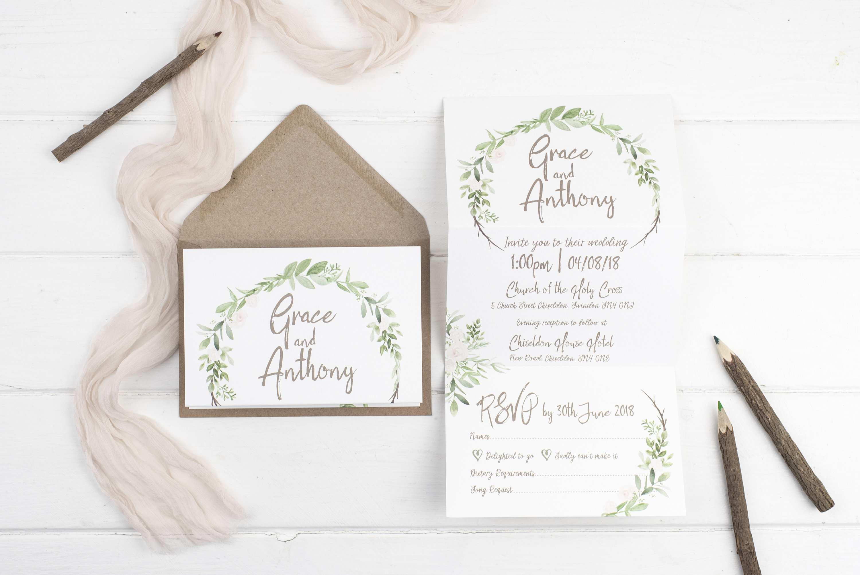 31 Standard Z Fold Wedding Invitation Template Layouts by Z Fold Wedding Invitation Template