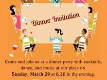 Example Invitation To Dinner