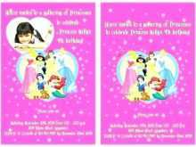 31 Visiting Princess Birthday Invitation Template for Ms Word for Princess Birthday Invitation Template