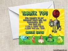 32 Adding Plants Vs Zombies Birthday Invitation Template Photo by Plants Vs Zombies Birthday Invitation Template