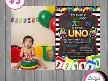 32 Best Uno Birthday Invitation Template Free Now with Uno Birthday Invitation Template Free