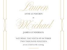 Invitation Card Name Format