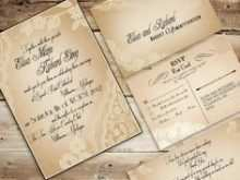 Old Wedding Invitation Template