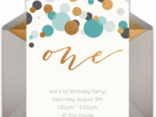 32 Creative 1St Birthday Invitation Video Template Download for 1St Birthday Invitation Video Template